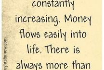 Affirmations For Wealth / Positive affirmations for good financial energy and health.