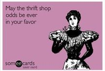 Thrifting & Yard Sales / We love saving money by thrifting or going to yard sales.  Here are some awesome tips!