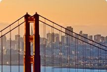 san francisco / topography of san francisco / by Madelyn Bryant