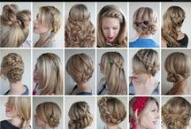 Hair styles / Getting ideas for cute hairdo's for job interviews, work, and formal events.