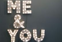 Lettere Decorative & Neon / lettere, numeri, insegne luminose! / by Dettagli home decor