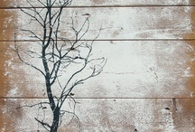 Shut the Barn Door! / Reusing weathered barn wood for home and outdoor decor / by Samantha Spidel