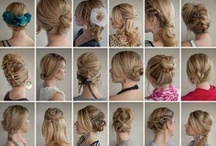 Creative Hair Fancy Ideas / Everything about hair, including hair styles for short hair, hair styles for long hair, hair styles for prom, wedding hair styles, formal hair styles and evening hair styles. / by Kelly M