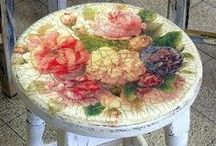 Got it Covered! / Transform that ugly duckling with decoupage, wall paper, or upholstery! / by Samantha Spidel