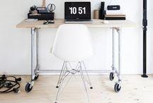 At work / Inspirerende werkplekken / by Arja van der Pot