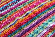 Blankets to do / Crochet, knit and sewing / by Shaina Skursky