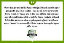 Real Satisfied / Our clients take a moment to review our agents.
