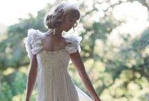 Wearing a White Dress