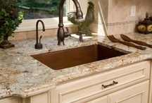 Countertops / Granite, Marble, Quartz, etc / by Enhance Floors & More