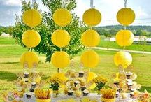 Parties are so fun to plan! / A grouping of thoughts and ideas for events ~ let your imagination soar!