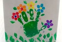 Fingers and toes...so precious / Love to use my child's fingers and toes!