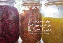 Pickles, Preserves & Keeping Garden Produce / by Diane Ki