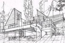 sketch / arch representation