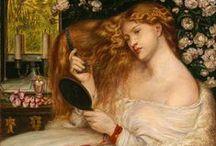 The Pre-Raphaelite Brotherhood / Pre-Raphaelite art and modern interpretations of