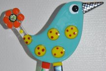 glass projects and tutorials I want to try / Glass fusing projects and inspiration.  / by Beth Wood