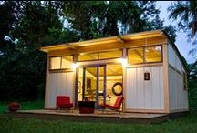 Cozey in Tiny Houses Off The Grid / by Nikole Fulkerson