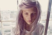 Tones of grey / Grey, white and silver hair