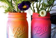 Mason jar ideas / by Nevena Radic