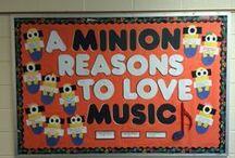 Classroom visuals / Music-themed bulletin boards, posters, quotes, and classroom decor ideas. / by Danielle
