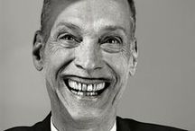 John Waters / I once saw him in person. That I'm very proud about. Ok, so John is all about go with your ideas, nevermind if people don't get it, do it anyway. Go all the way! No guilty pleasures!