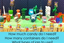 Candy Buffets / by Birthday Party Ideas 4 Kids