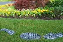 Garden Accents / Wonderful garden accents to add to your outdoor living area
