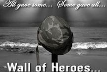 """Remembering Our Heroes / """"The nation which forgets its defenders will be itself forgotten."""" Calvin Coolidge (1872-1933)  #RememberTheFallen #Patriot https://www.paracordpaul.com/wall-of-heroes/"""
