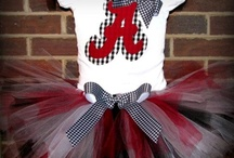 Crimson Tide / by Heather Reed