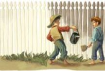 Tom Sawyer Party Ideas / by Birthday Party Ideas 4 Kids