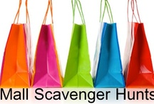 Mall Scavenger Hunts / Mall Scavenger Hunts 8 Different mall scavenger hunts with FREE lists to print out!  A great birthday party game and activity for kids, tweens and teens ages 8, 9, 10, 11, 12, 13, 14, 15, 16, 17 and 18 years old.  / by Birthday Party Ideas 4 Kids