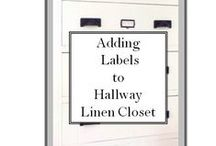 Rooms: Hallways and Closets / details from hallways and closets