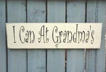 Grandparent/Kids Signs