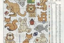 Cross Stitch Animals Assorted / Assorted animals / by Velle Mere Lyons