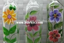 Bottles Painted