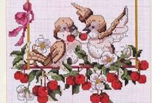 Cross Stitch Berries & Fruit / Berries and Fruit / by Velle Mere Lyons