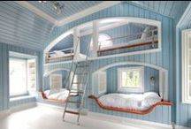 House Parts: Bunk Beds / Built in bunk beds