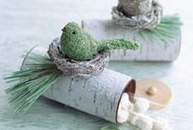 Holiday: Christmas DIY Paper Ornaments / Christmas ornaments made from papers