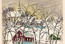 Holiday: Christmas Vintage Cards