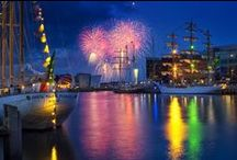 The Tall Ships 2015 / The majestic Tall Ships sailed into Belfast for 4 days of festival fun from 2-5 July 2015. Take a look back at the festival with these spectacular highlights!