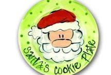 Plates Christmas / Christmas