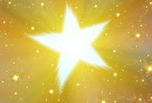 *stargazing illustration* / make a wish