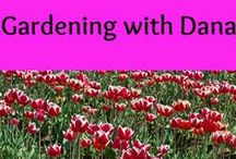 Dana & Gardening / For your green fingers! #pghfrugalmom #outdoor #gardens, #patios #tips #tricks #plants, #perennials #annuals #watering #porch #summer #winter