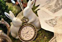 Alice in Wonderland / Alice in Wonderland and Mad Hatter Tea Party ideas!