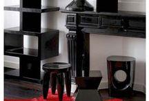 So chic in Black ! / #colorattitude #black #noir #design #lifestyle #meuble