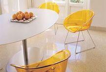 Optimistic... Orange :-) / #colorattitude #orange #design #lifestyle #meuble