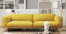Energizing Yellow ! / #colorattitude #yellow #jaune #design #lifestyle #meuble