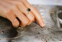 Jewels / Shiny things and brassy rings. / by Jules Sampson