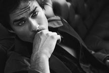 Ian Somerhalder / Ian Somerhalder aka Damon Salvatore on the show Vampire Diaries is my favorite vampire and actor of all times! This man is so amazing that I don't even know how to describe him!! He has the most beautiful eyes I've ever seen and a smirk that hypnotizes you!! <3 / by Viviana Perez