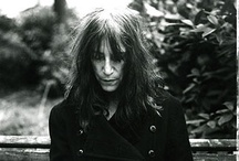 Patti Smith / Patti Smith - Artist, poet, writer and musician. My all time hero.