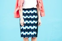 pencil skirts / by biscuitsandnavy